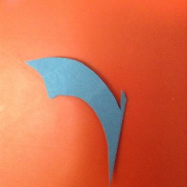 bat shape cut out 3